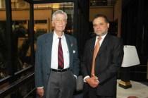 Con Mario Bunge (2005)