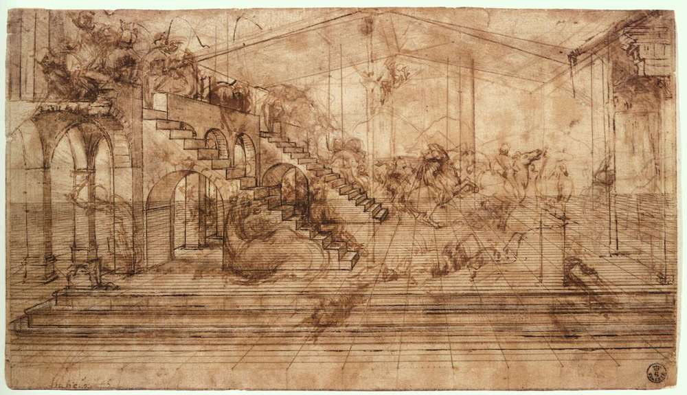 The Adoration of the Magi Perspectival Study